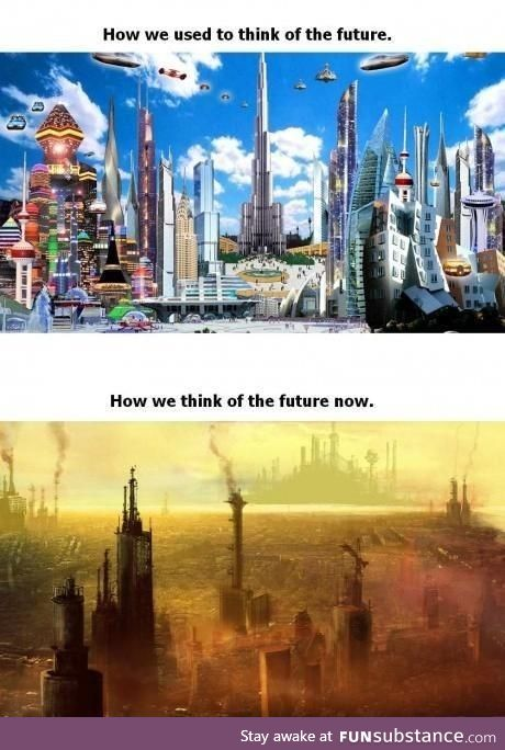 How we used to think of the future
