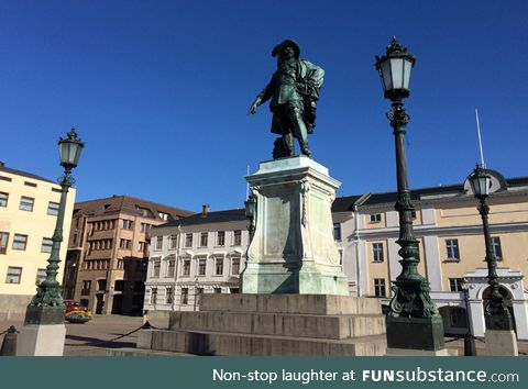 My hometown Gothenburg is 400 years old today!