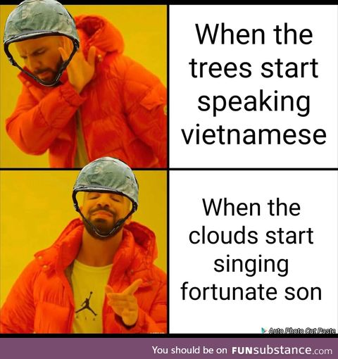 Some folks were born raised to wave a meme, oooo that drake format