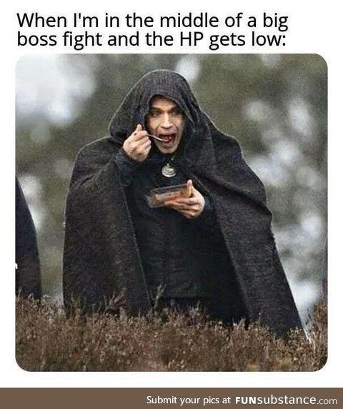 We must regen!