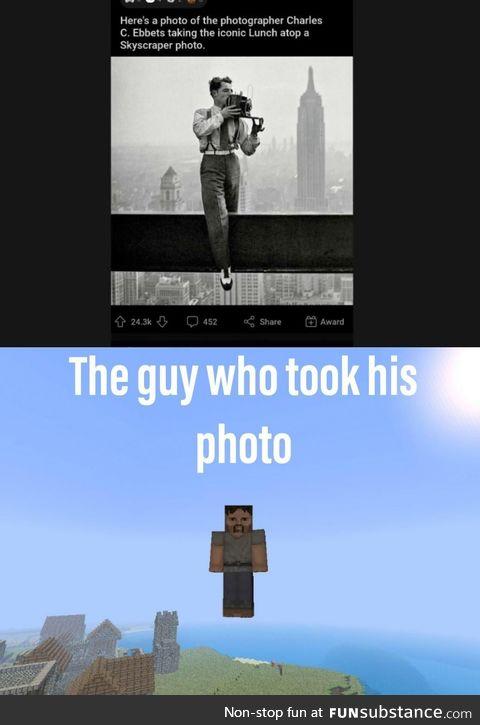 No really who took his photo