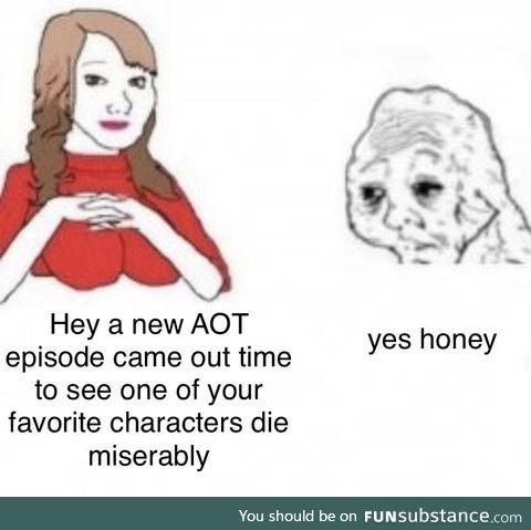 Aot fans be like
