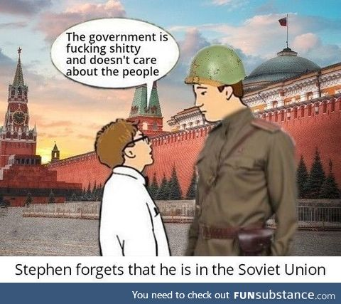 Guess who is going to the gulag