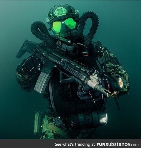 Serbian combat divers are a thing, FYI