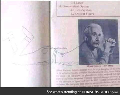 When the student gets bored in physics class