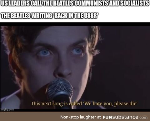 The Beatles being controversial? Never! /s