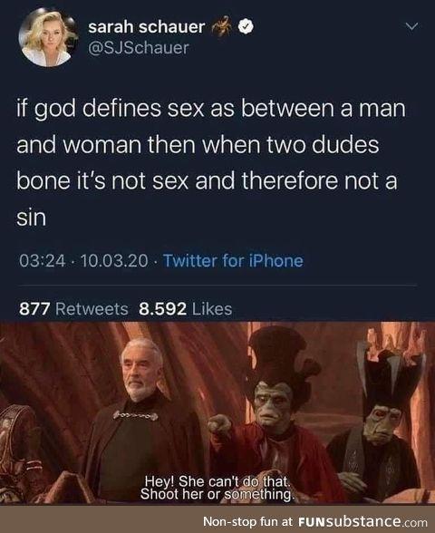 Not a sin