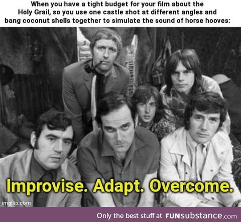 Financial problems require Monty Python solutions