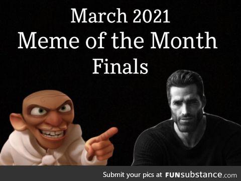 March 2021 meme of the month finals — average enjoyer vs chef skinner