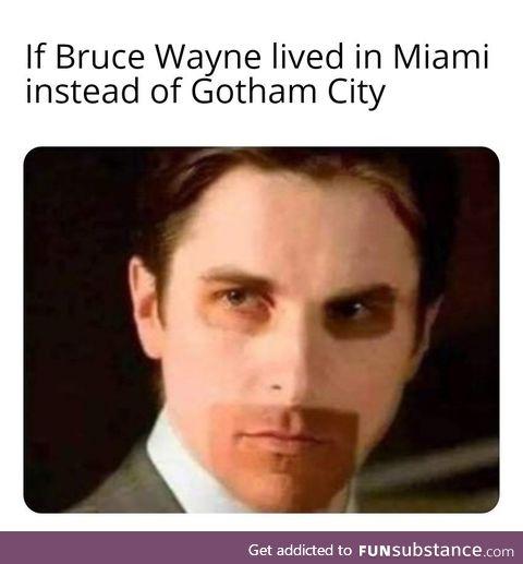 Are you Batman?