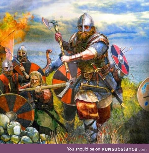 On this day in 793 Danish vikings raided the holy isle of Lindesfarne, marking the start