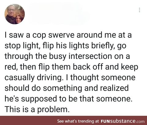Record the police
