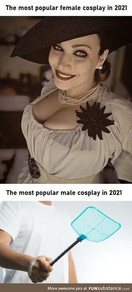 High-class cosplay