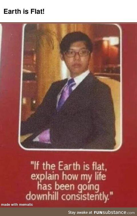 Earth is Flat!