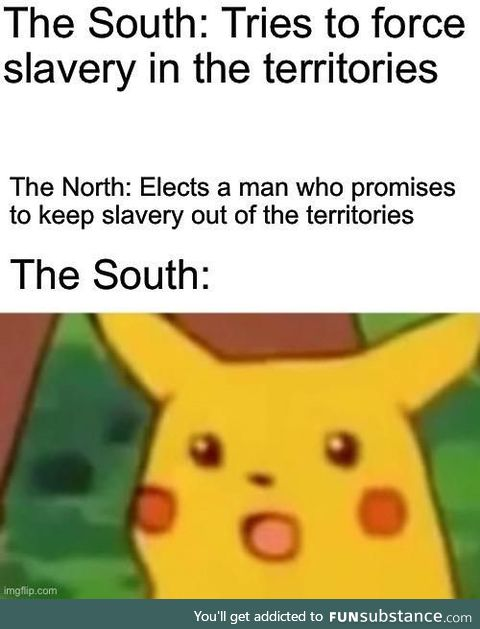 Every attempt to push the issue led to Lincoln
