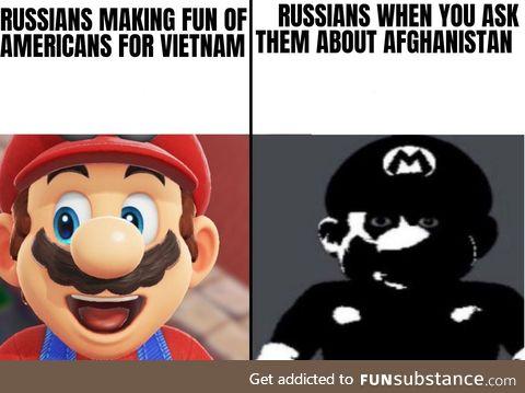 Afghanistan is just Russian Vietnam