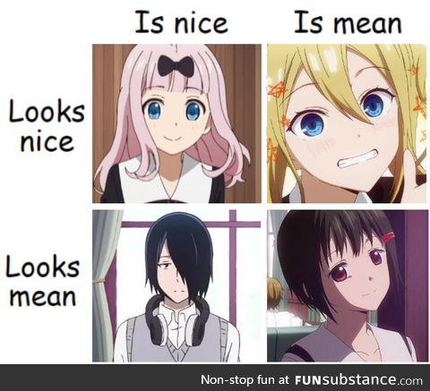 Hayasaka can literally manipulate anyone easily
