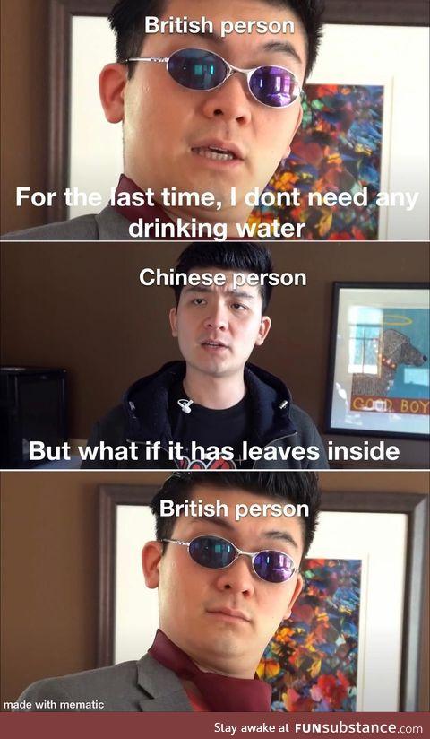 Crippling tea addiction