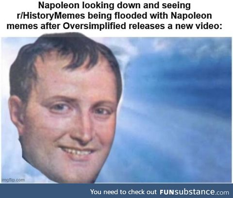 For a third time, Napoleon has returned