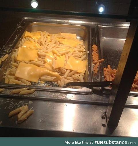 Macaroni and *** it