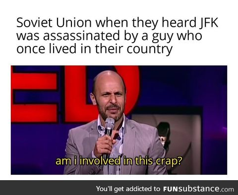 They even launched an investigation to the KGB, just to make sure its not them