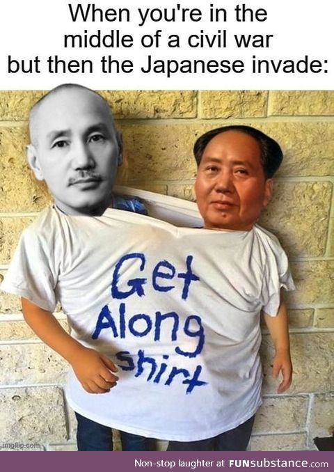 Mao and Chiang; It's a sitcom in the making
