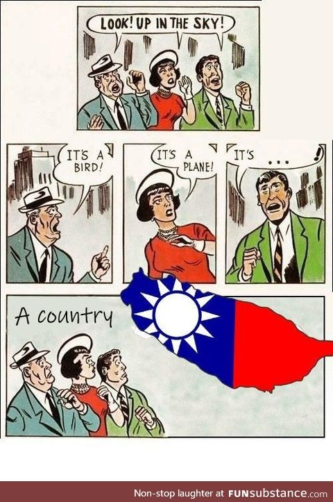 Taiwan is a country