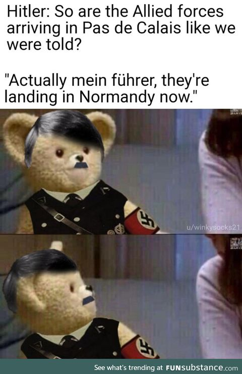 You heard him right, Normandy