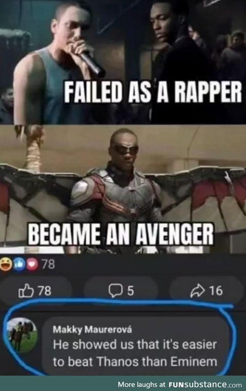 Evidence that Eminem is a god