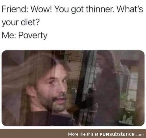 The poverty diet