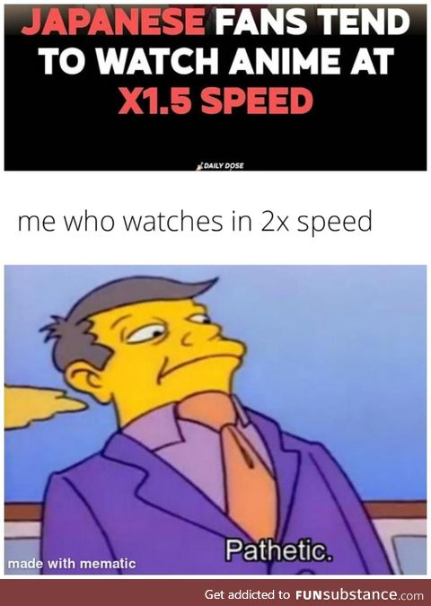 They are too slow