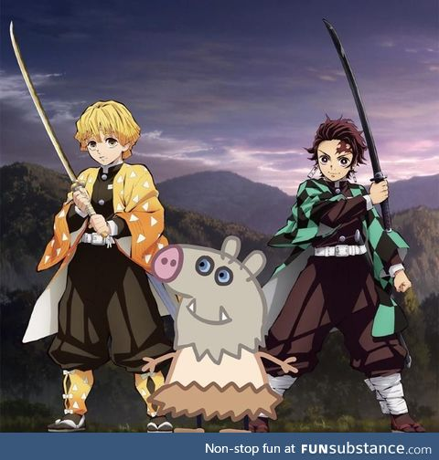 The Demon Slayer anime looks a little different…