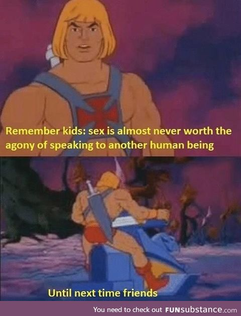 Tips from He-man