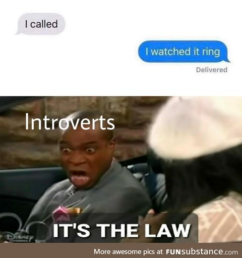 Im fine with texting
