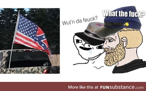 Ah yes, the Confederate Union flag