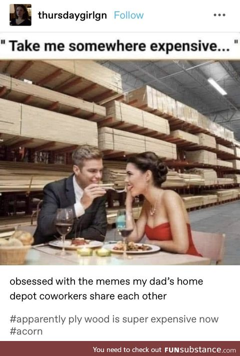 Home Depot memes are so hot this year