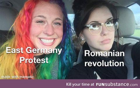 1989 in Romania is intense