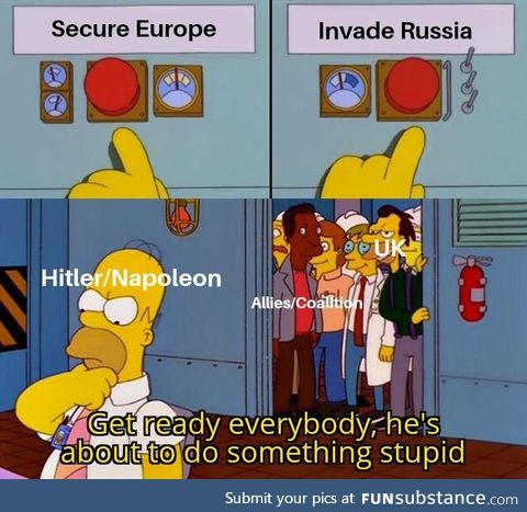 When Britian's strategy of keeping European countries from growing too powerful fails