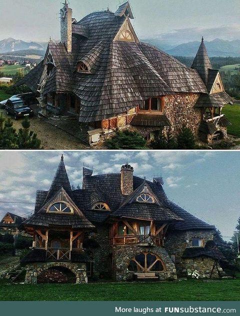 Cottage in the Tatra Mountains, Poland