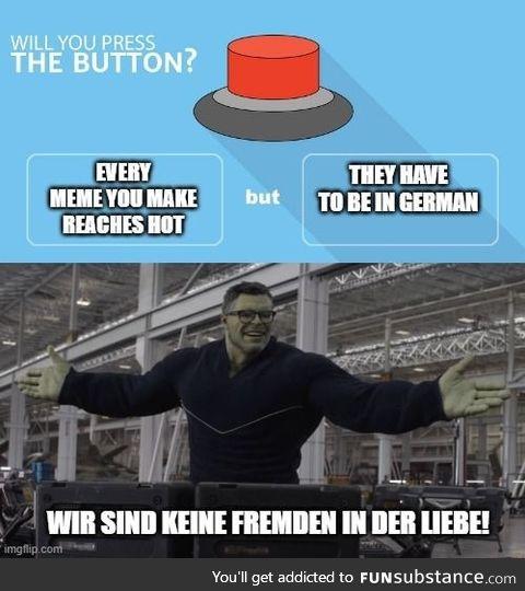 Do you press the button?