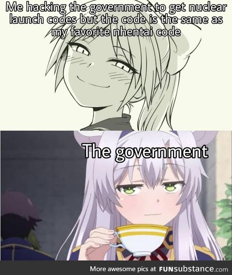 Nice taste, Mr. President