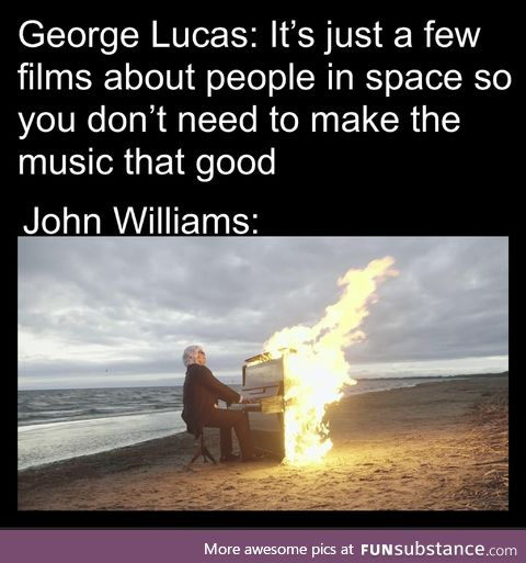 John Williams brings the heat no matter the occasion