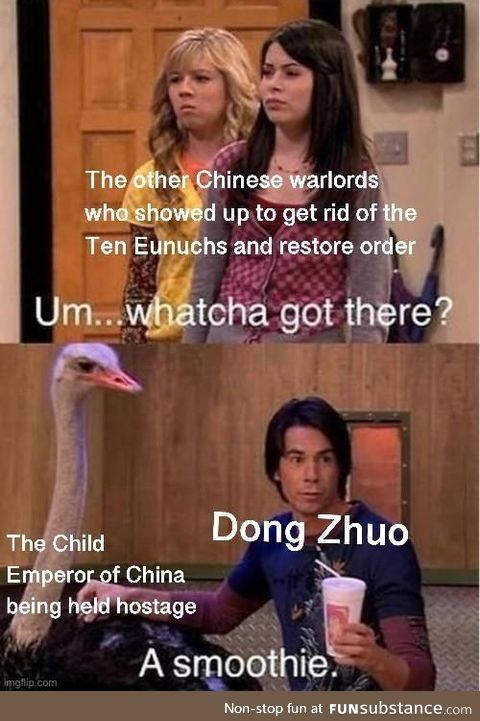 Beginning of the end for the Han Dynasty