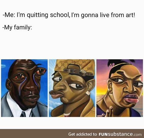Artistic meme