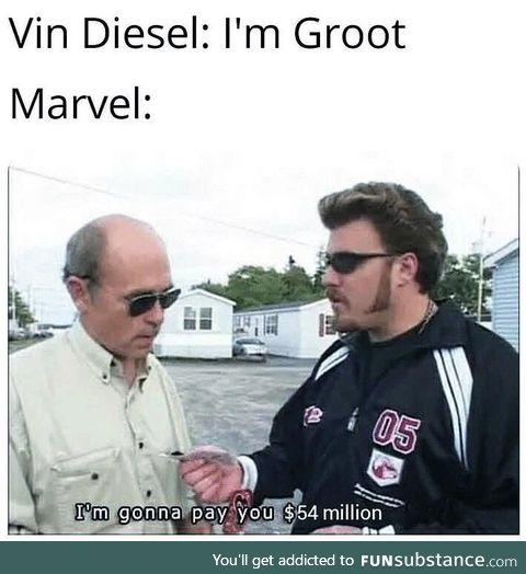 Marvel making actors rich