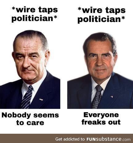 Oh you poor man, President Nixon