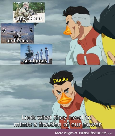 One duck can literally do all that and more