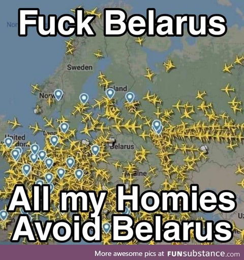 We did it we Cancelled Belarus
