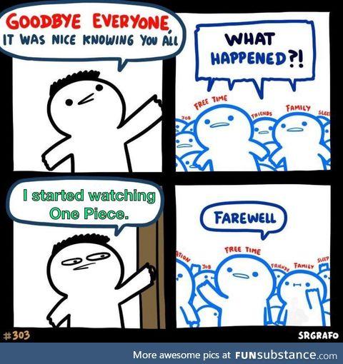Time to say goodbye to life