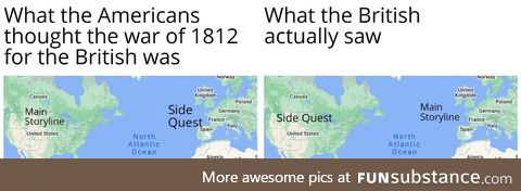 The Brits always love the Main Quest